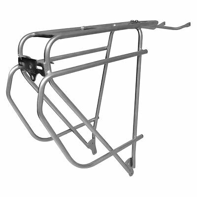 Tortec Rack- EPIC STAINLESS STEEL REAR RACK SILVER