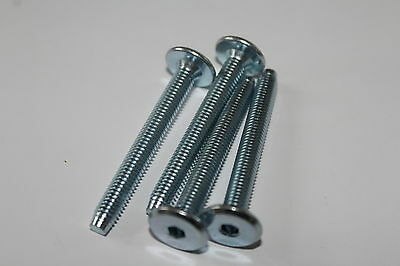 Furniture bolts M6 50mm for use with cross dowel insert nuts bed cots mothercare