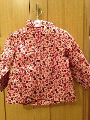 Next Baby Girls Zip Up Jacket Age 18-24 Months Excellent Condition