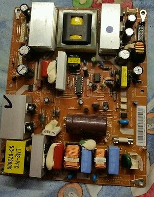 """Power Supply Board BN44-00155A  from Samsung LE32R87BD 32"""" LCD TV"""