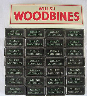 Will's Woodbines / Wills Woodbine - Dominos In Tin Box - Good Used Condtion