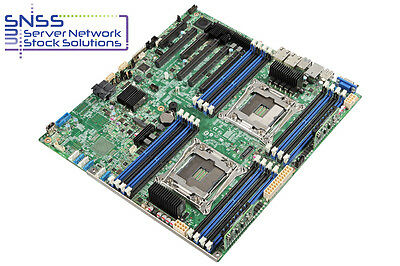 NEW Intel Server Board S2600CWTSR C610 Dual 2011-V3 Socket 2TB 8 xSAS3 2 x 10GBE