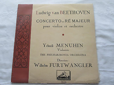 Yehudi Menuhin - The Philharmonia Orchestra  His Masters Voice French Lp Falp314