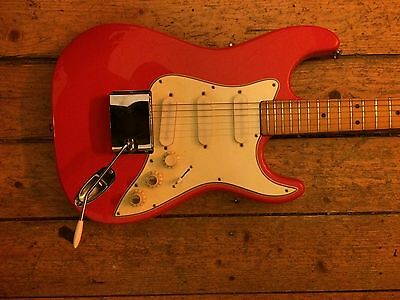 Framus Stratocaster Style S-355 German Vintage Guitar Free Shipping
