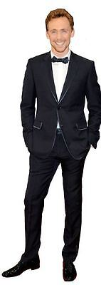 Tom Hiddleston Cardboard Cutout (life size OR mini size). Standee. Stand Up