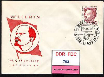 DDR-FDC 762, 763, gestempelt, s. scan