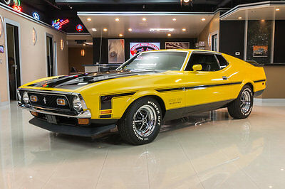 1972 Ford Mustang  Fully Restored Fastback! 351ci Cleveland V8 Engine, FMX 3-Speed Automatic, PS!