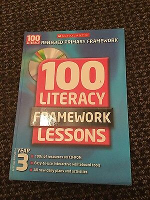scholastic 100 literacy lessons year 3