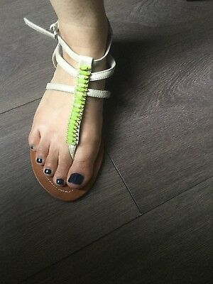 river island womens sandals size 4