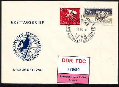 DDR-FDC 779/80, gestempelt, s. scan