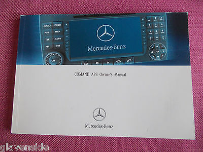 Mercedes-Benz Comand Sat Nav Navigation / Audio  Handbook - Manual  (Acq 4255)