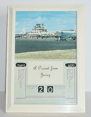 Vintage Vogue 1950's Plastic Framed Perpetual Calendar - Present From Jersey