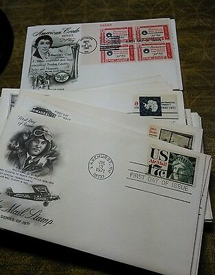 US First Day Cover Lot of 50 mixed
