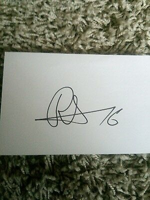 Mohammad Ritzwan Pakistan test player 224 signed card