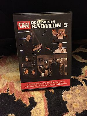 CNN's Documents Babylon 5 Collectors DVD.