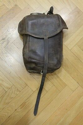 Original Ww2 German Wh Cavalry Trooper's Right Side M34 Saddle Bag See It