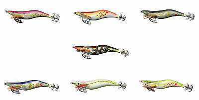 7x NEW ZEBCO 11.5cm 11g JEKYLL SQUID JIG LURES 7 DIFFERENT COLOURS POST FREE
