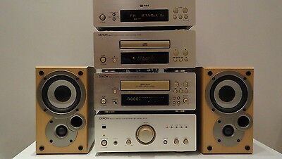 Denon D-F07 HIFI Seperates Component System and free Speakers + Remote