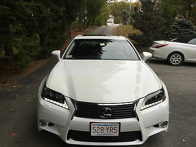 2013 Lexus GS  2013 LEXUS GS450 HYBRYD PEARL WHITE WITH 13000 MILES, WARRANTY