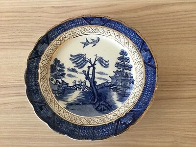Vintage Booths Real Old Willow Side Plate