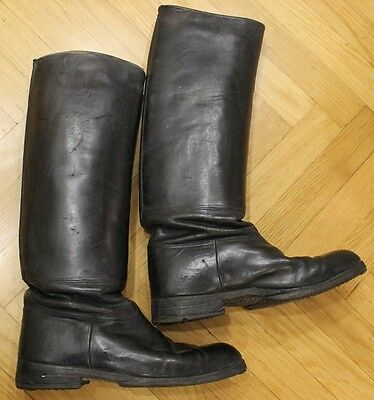 Orig. German Ww2 Wh Officer's Jack Boots Good Condition See It B