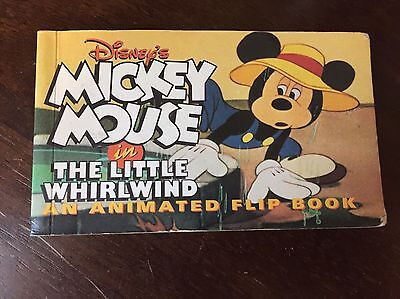 Mickey Mouse In the Little Whirlwind Flipbook