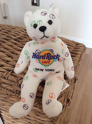 Hard Rock Cafe New York Limited Edition Bear. Excellent Condition