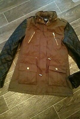girls NEW LOOK winter coat age  12-13 years ��