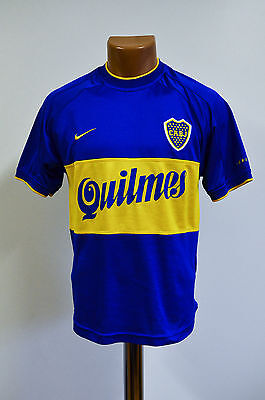 Boca Juniors Argentina 2001/2002 Home Football Shirt Jersey Maglia Nike