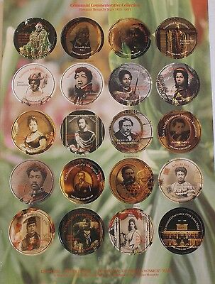 POGS Hawaiian Monarchy POGS
