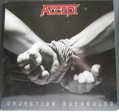 Accept - 'objection Overruled' Lp - Unplayed Original - Metal