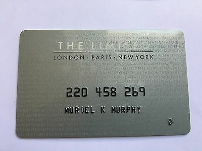 Vintage Retail Charge Credit Card J22 The Limited