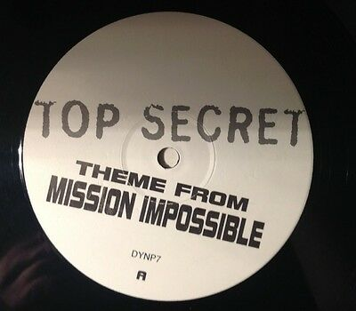 Theme From Mission Impossible  - Top Secret   On White Promo