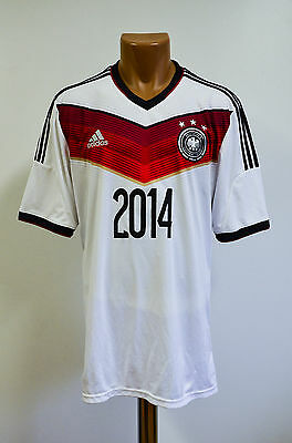 Germany 2014/2015 Home Football Shirt Jersey Trikot Maglia Adidas Weltmeister
