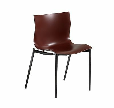 Philippe Starck Driade Cam El Eon (red indoor chair) RARE SET OF 4 RRP £1,400