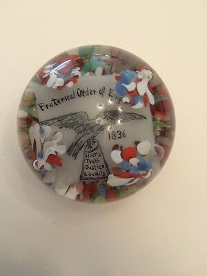 """Paperweight Fraternal Order of Eagles 3"""""""