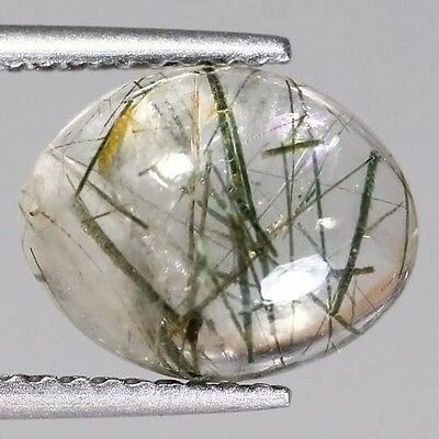 NATURAL AFRICA RUTILITE QUARTZ OVAL 2.50 Ct GEMSTONE