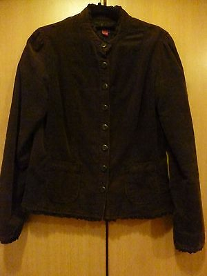 ladies/girls, cord jacket from monsoon, size 8