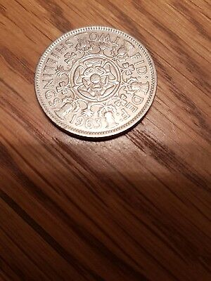 1963 Two Shilling coin
