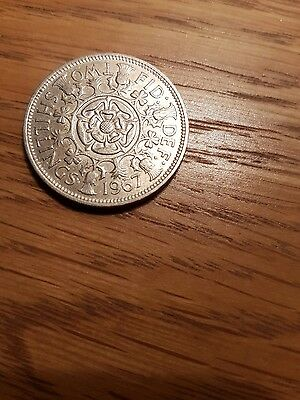 1967 Two Shilling coin