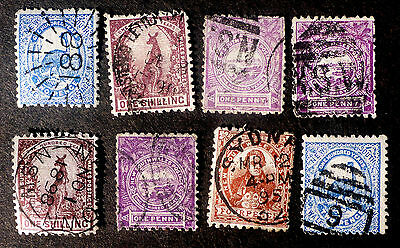 New South Wales 1888-9 Issues Possible Cancel Interrest
