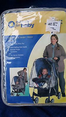 NEW Especially for Baby STROLLER PROTECTOR Rain shield Mesh Ventilation Cover