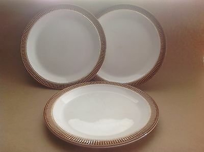 Retro Poole Pottery Chestnut Side Plates and Jug