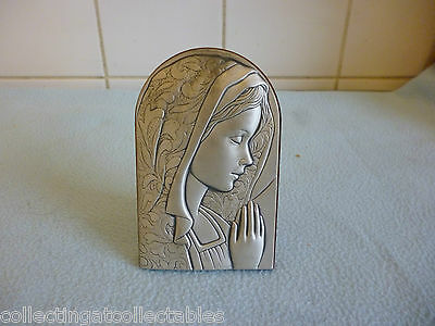 Vintage Leader Argenti Sterling Silver Plaque