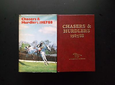 """Timeform """"chasers & Hurdlers"""" 1987/88 In A Protected Original Dust Jacket"""