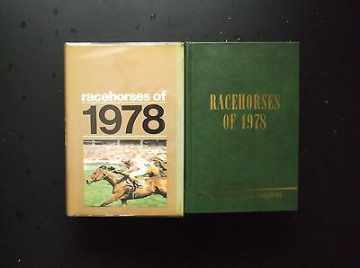"""Timeform """"racehorses Of 1978"""" In A Protected Original Dust Jacket."""