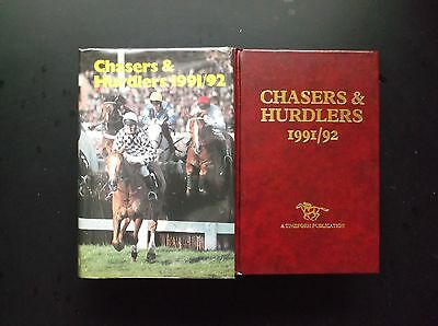 """Timeform """"chasers & Hurdlers"""" 1991/92 In A Protected Original Dust Jacket"""