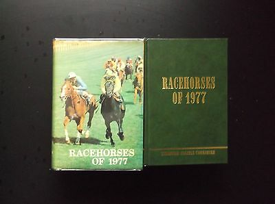 """Timeform """"racehorses Of 1977"""" In A Protected Original Dust Jacket"""