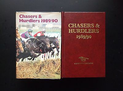 """Timeform """"chasers & Hurdlers"""" 1989/90 In A Protected Original Dust Jacket"""