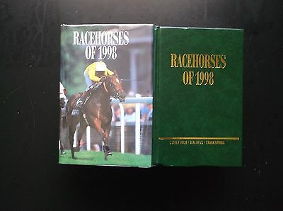 """Timeform """"racehorses Of 1998"""" Fine In A Protected Dust Jacket"""